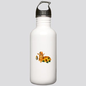 Cowboy Cat Stainless Water Bottle 1.0L