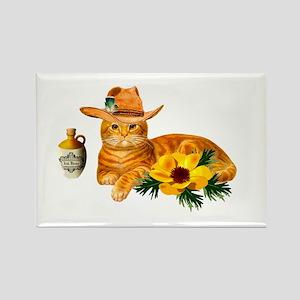 Cowboy Cat Magnets
