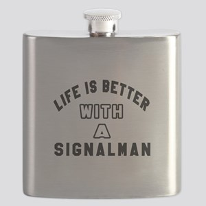 Signalman Designs Flask