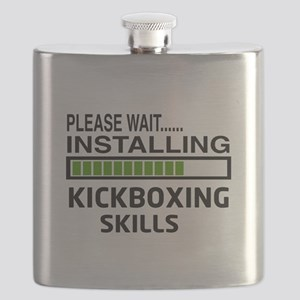 Please wait, Installing kickboxing skills Flask