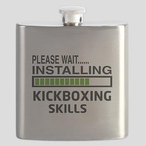 Please wait, Installing kickboxing skills Flask