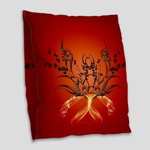 Wonderful triba Burlap Throw Pillow