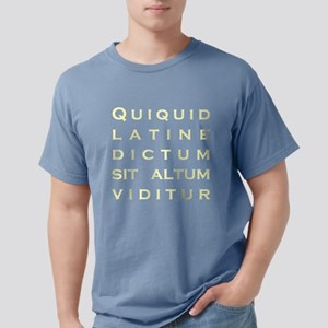 Anything sounds profound in Latin - T-Shirt