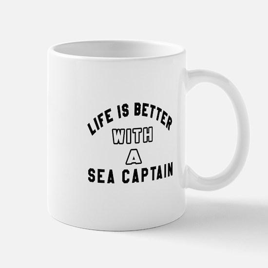 Sea Captain Designs Mug