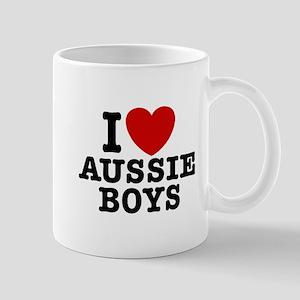 I Love Aussie Boys Mug