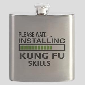Please wait, Installing Kung Fu skills Flask