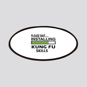 Please wait, Installing Kung Fu skills Patch