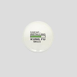 Please wait, Installing Kung Fu skills Mini Button