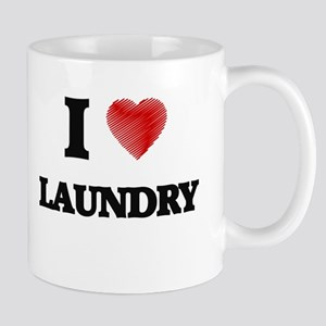 I Love Laundry Mugs