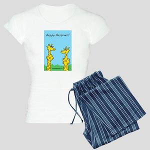 Paassover Giraffes Women's Light Pajamas
