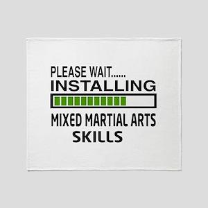 Please wait, Installing Mixed martia Throw Blanket