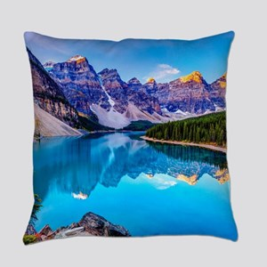 Beautiful Mountain Landscape Everyday Pillow