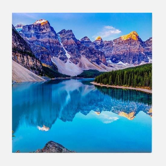 Beautiful Mountain Landscape Tile Coaster