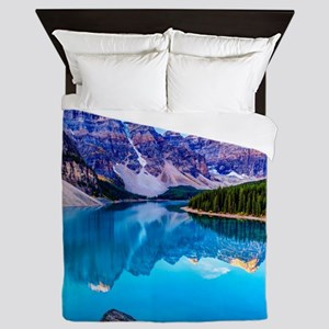 Beautiful Mountain Landscape Queen Duvet