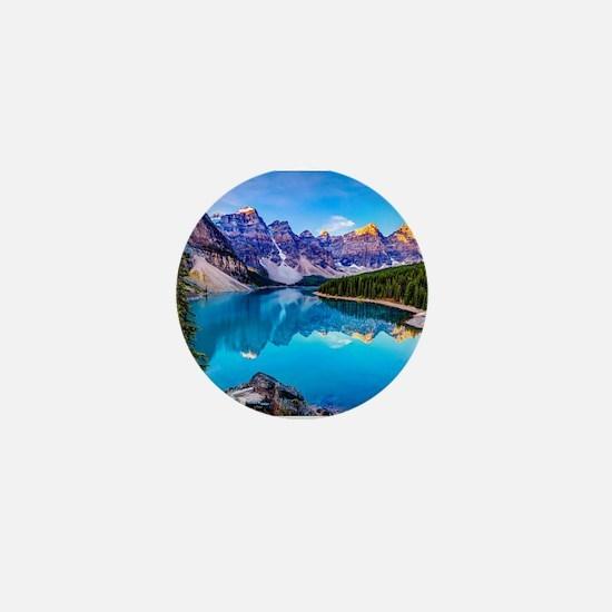 Beautiful Mountain Landscape Mini Button
