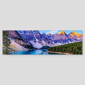 Beautiful Mountain Landscape Bumper Sticker