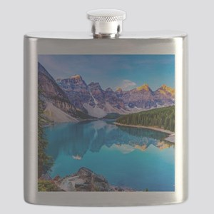 Beautiful Mountain Landscape Flask