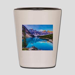 Beautiful Mountain Landscape Shot Glass
