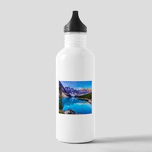 Beautiful Mountain Landscape Sports Water Bottle