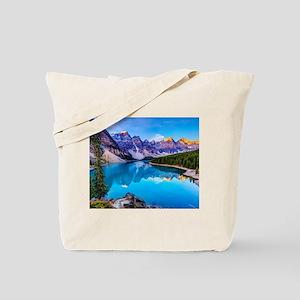 Beautiful Mountain Landscape Tote Bag