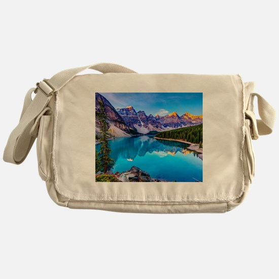 Beautiful Mountain Landscape Messenger Bag