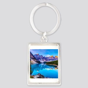 Beautiful Mountain Landscape Keychains