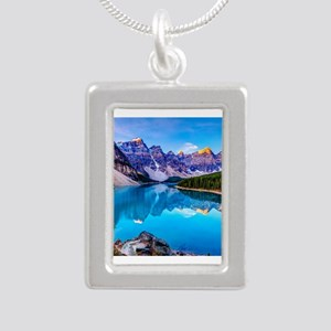 Beautiful Mountain Landscape Necklaces