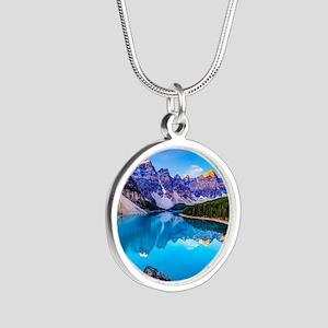 Beautiful Mountain Landscape Necklaces