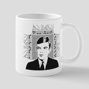Alan Turing Portrait Mugs