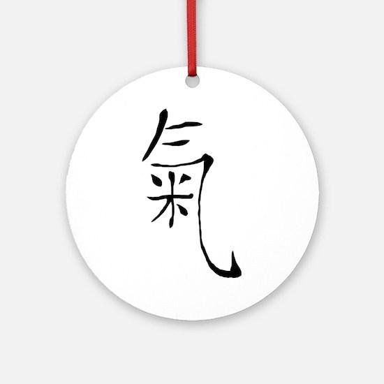 Chi Round Ornament