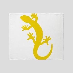 Gecko Throw Blanket