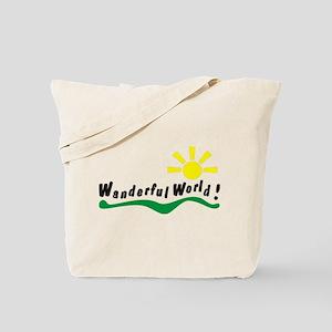 Wanderful world Tote Bag
