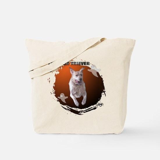 Halloween Labrador Retriever  Tote Bag