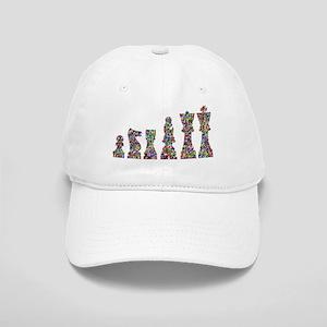Prismatic Rainbow Chess Cap
