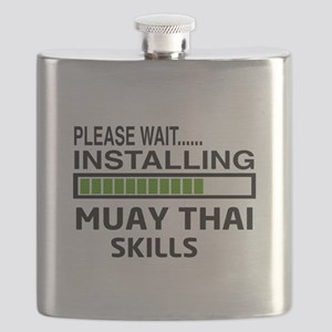 Please wait, Installing Muay Thai skills Flask