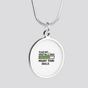 Please wait, Installing Muay Silver Round Necklace