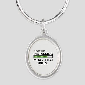Please wait, Installing Muay Silver Oval Necklace