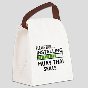 Please wait, Installing Muay Thai Canvas Lunch Bag