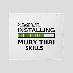 Please wait, Installing Muay Thai sk Throw Blanket
