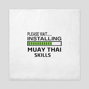 Please wait, Installing Muay Thai skil Queen Duvet