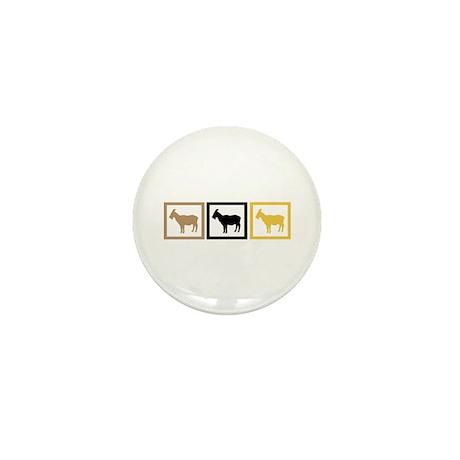 Goat Squares Mini Button (100 pack)