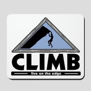 Rock Climbing Mousepad