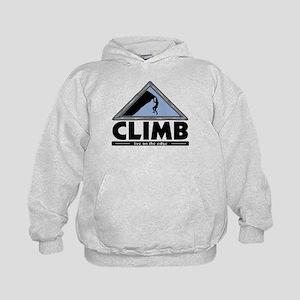 Rock Climbing Kids Hoodie
