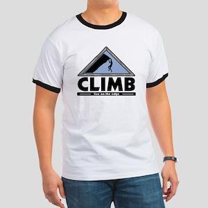Rock Climbing Ringer T