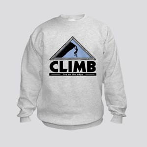 Rock Climbing Kids Sweatshirt