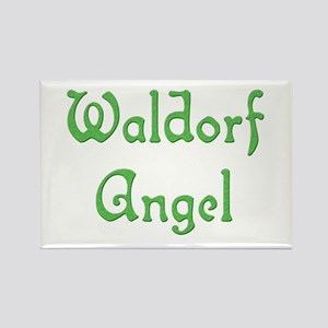 Waldorf Angel 1 Rectangle Magnet
