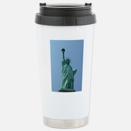 The Statue of Liberty Stainless Steel Travel Mug