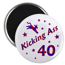 Kicking Ass 40 * Magnet