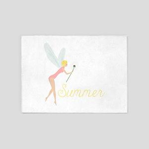 Summer Fairy 5'x7'Area Rug