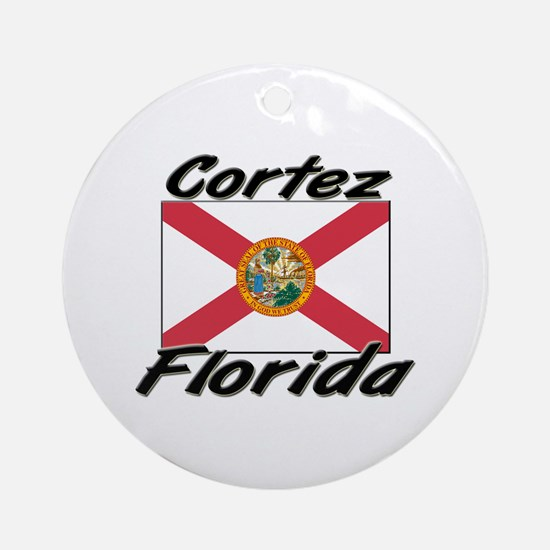 Cortez Florida Ornament (Round)